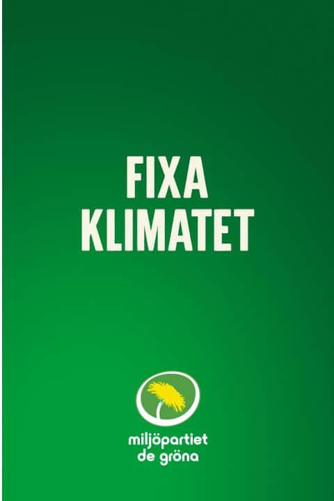 Fixa klimatet
